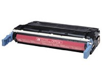 Premium Quality Compatible Magenta Toner Cartridge compatible with the HP C9723A