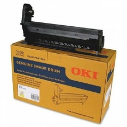 Genuine OEM Okidata 45395709 Yellow Imaging Drum (30,000 page yield)
