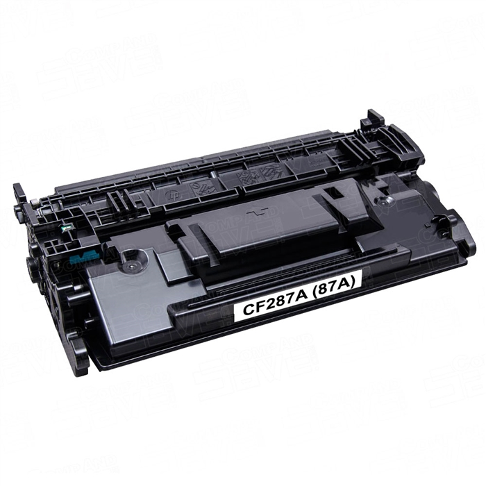 Premium Quality Black Toner Cartridge compatible with HP CF287A (HP 87A)