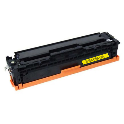 Premium Quality Yellow Toner Cartridge compatible with the HP CE412A