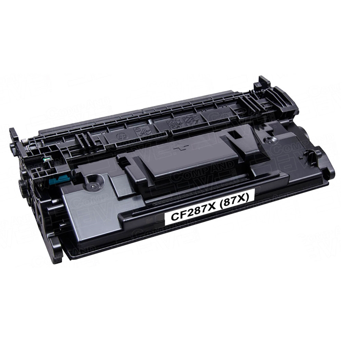 Premium Quality Black Toner Cartridge compatible with HP CF287X (HP 87X)