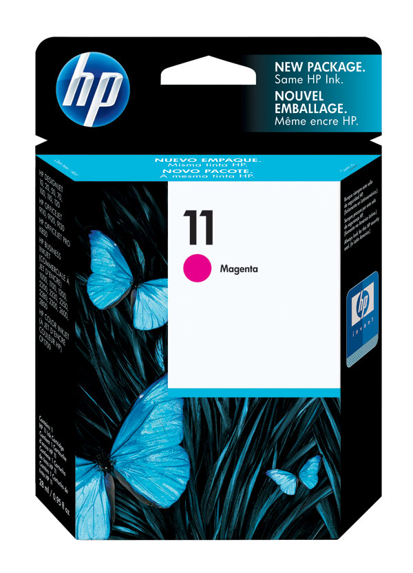 HP C4837A (HP 11) Magenta OEM Ink Cartridge