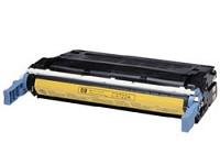 Premium Quality Compatible Yellow Toner Cartridge compatible with the HP C9722A