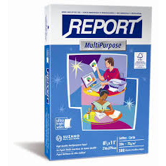8.5 X 11 REPORT 100 BRIGHT 20 LB. WHITE COPY PAPER