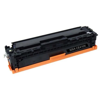 Premium Quality Black Toner Cartridge compatible with the HP CE410X
