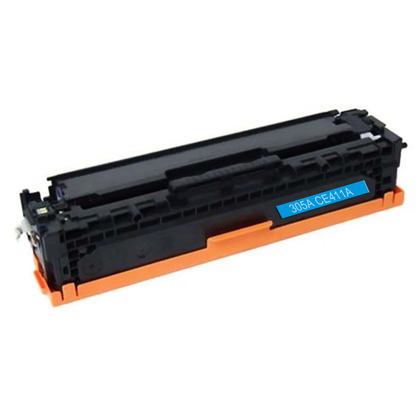 Premium Quality Cyan Toner Cartridge compatible with the HP CE411A