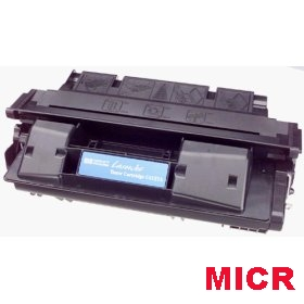 Premium Quality Black MICR Toner Cartridge compatible with the HP (HP 27A) C4127A